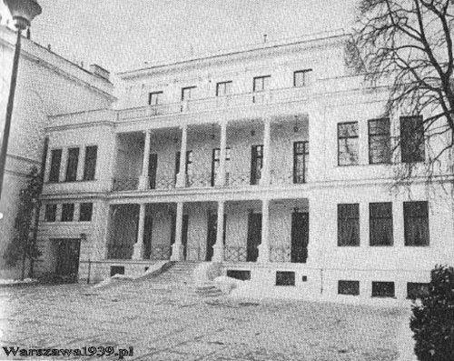 Znalezione obrazy dla zapytania PAłac Przeździeckich warszawa