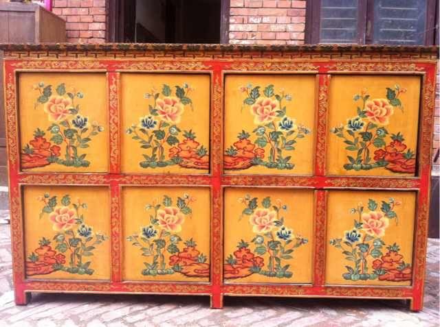 Tibetan Cabinet Tibetan Furniture For Sale Tibetan Furniture Hand Painted  Https://www.youtube.com/watch?vu003d2bHD_ZlnjJo Chinese Furniture Tibetan Antu2026