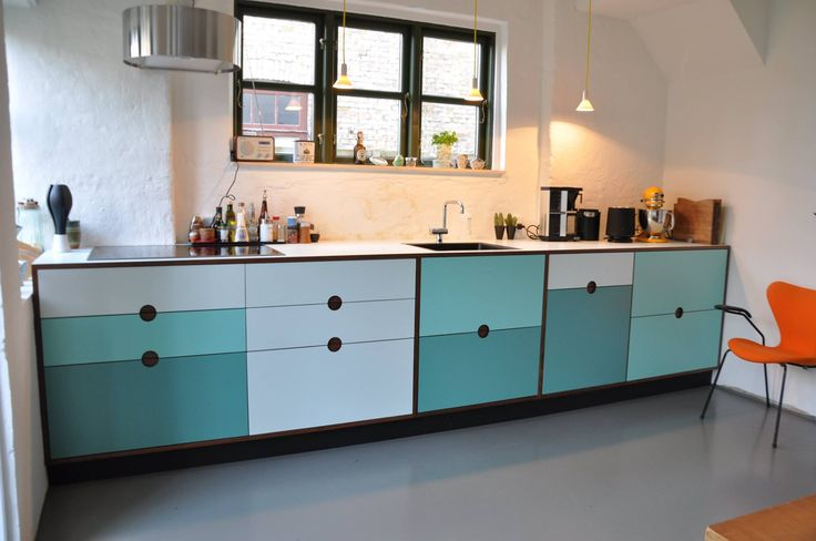 www.Kjeldtoft.com Super cool kitchen