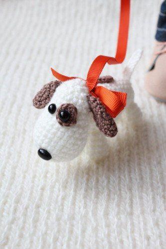Собачка амигуруми | 800 схем амигуруми на русском