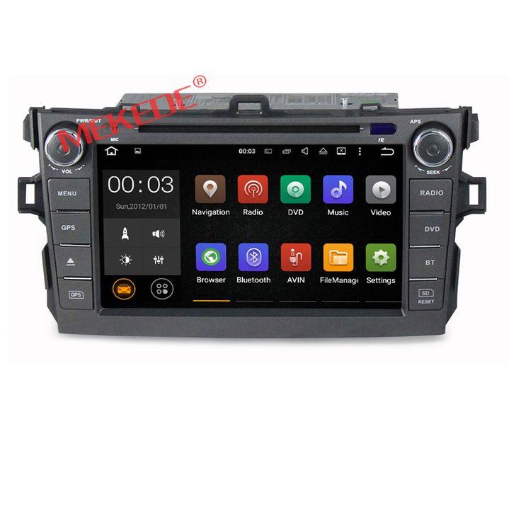 8 Core Car Stereo For Toyota Corolla Auto radio DVD GPS Multimedia Navigation BT