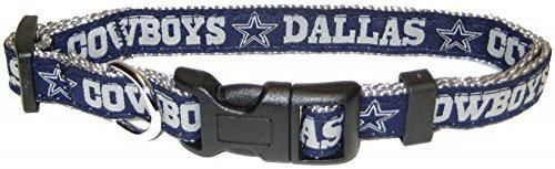 Pets First NFL Dallas Cowboys Pet Collar, Small