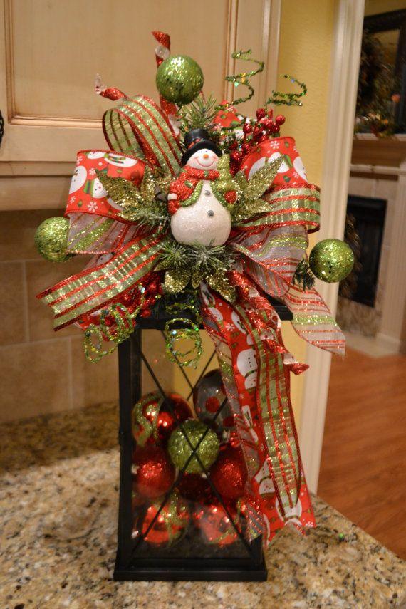 M s de 1000 ideas sobre arreglos florales de navidad en - Ideas para arreglos navidenos ...