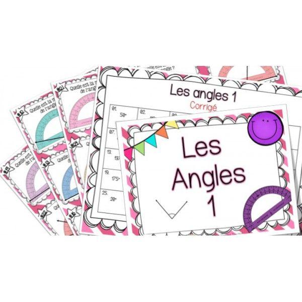 Les angles 1 - Cartes à tâches ! Mieux enseigner morning teacher o.k. Pack spécial