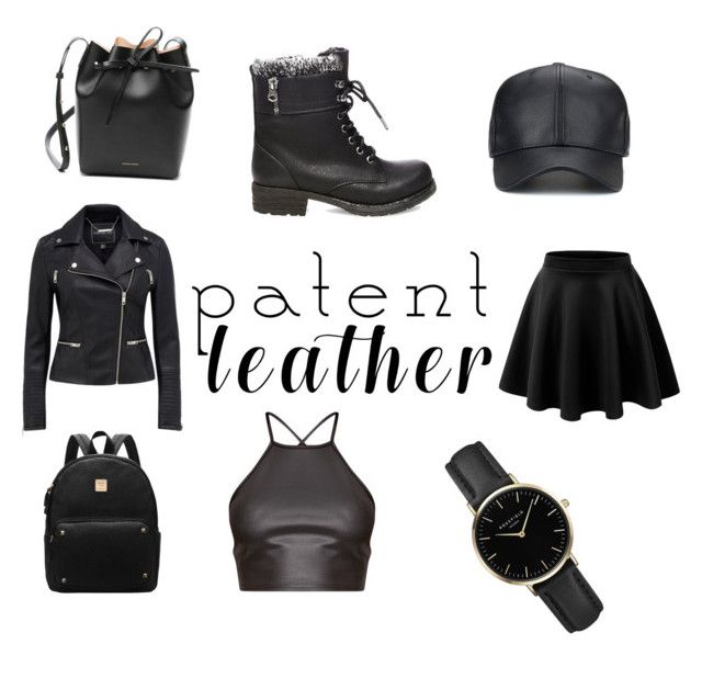 """""""Leather"""" by juanaguzman on Polyvore featuring Steve Madden, ROSEFIELD and Mansur Gavriel"""