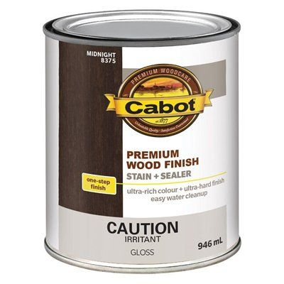 Cabot premium wood finish interior stain and sealer lowe 39 s canada pinterest stains for Lowes exterior stain and sealer