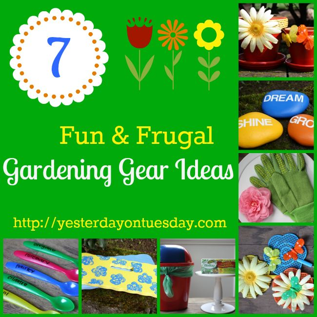 Dollar Store Gardening Ideas: Fab finds from the Dollar Store that can help you out in the garden!