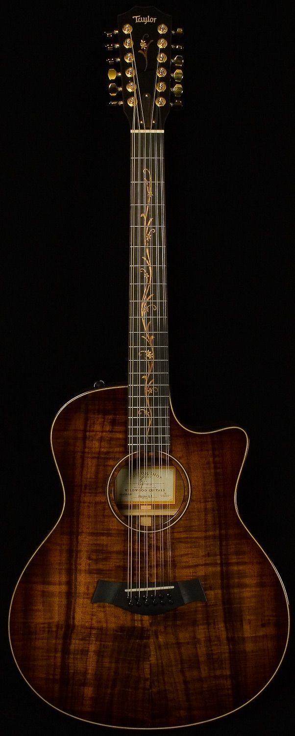 Taylor Wildwood CV K66CE 12str Koa  With everything I am as a man I want this guitar.