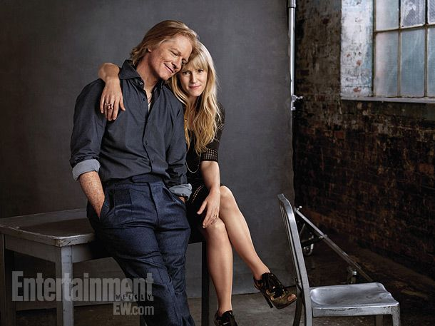 Eric Stoltz & Mary Stuart Masterson - Some Kind of Wonderful reunion - this photo is everything!