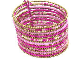 Awesome hand made 3 inch bangle! available in 6 different colors at www.saltandspicejewelry.com