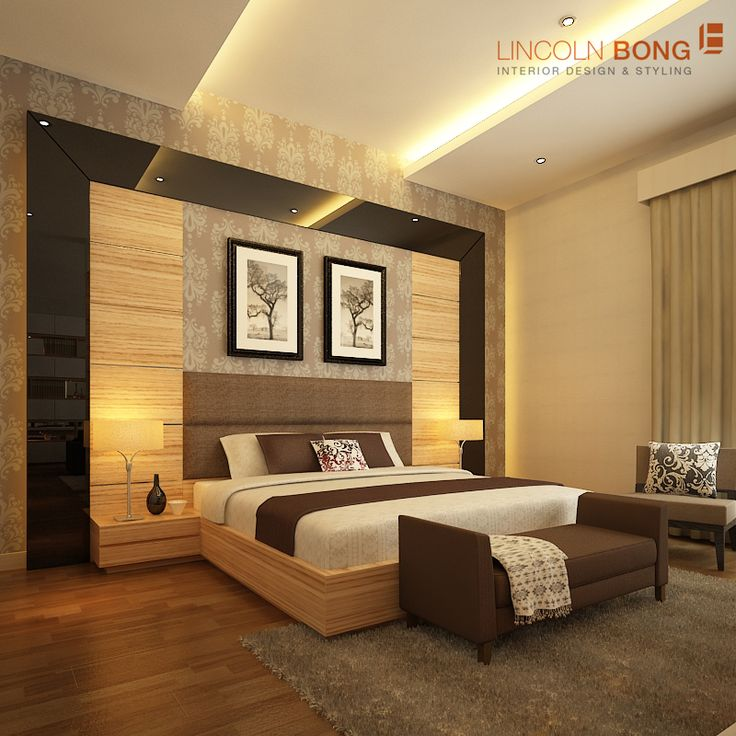 Contemporary Minimalist Bedroom we designed for our client in Rajawali, Jakarta
