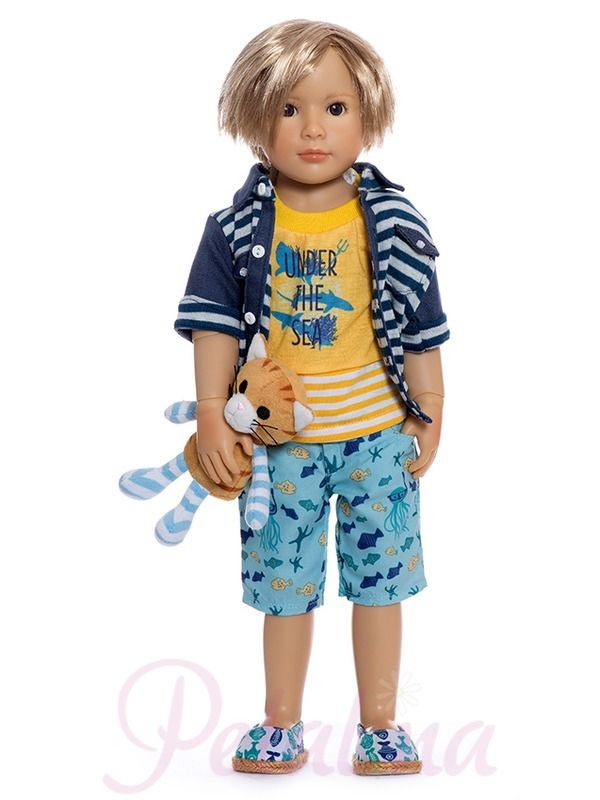 Kidz 'n' Cats Lukas. Lukas is going to be a hit this year with Kidz 'n' Cats fans. He is new to the collection in 2017 and will be available in July.