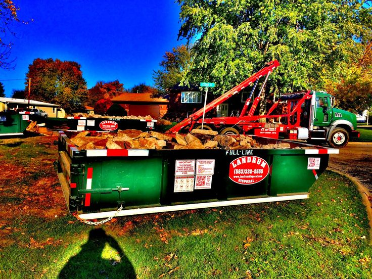 (563) 3322555 Roll Off Dumpster Rental Milan Illinois