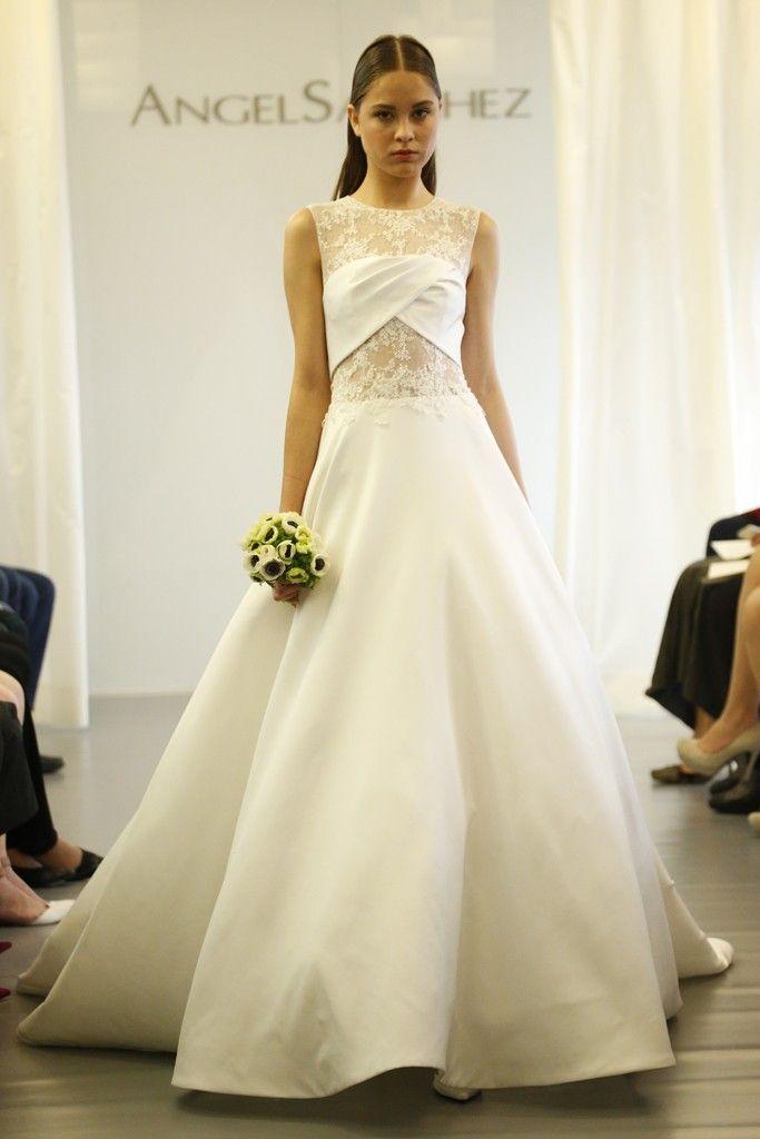 Angel Sanchez gown | Designer Wedding Gowns | Pinterest | Angel ...