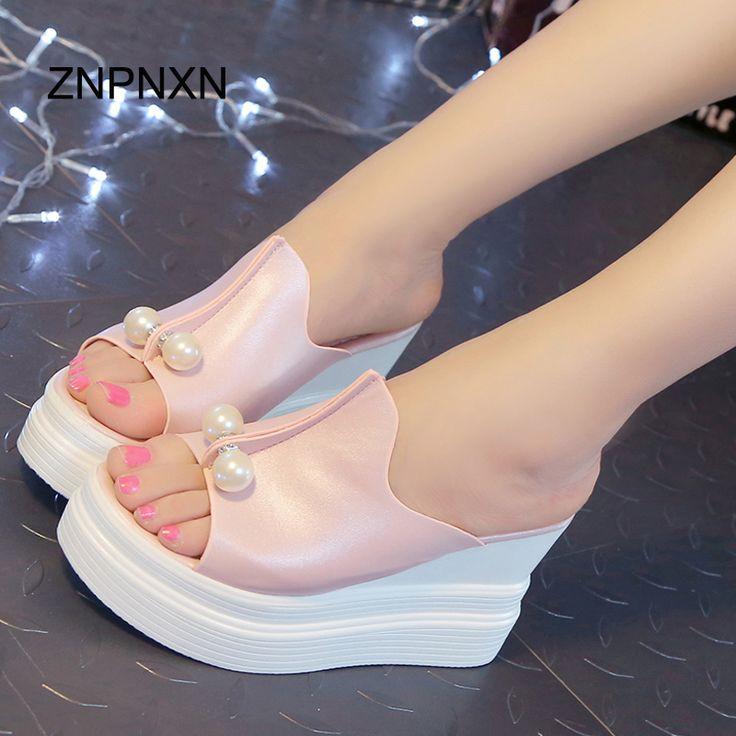 2016 мода женщин туфли на платформе женщины летняя обувь презентация сандалии перл Desigh Sandalias Mujer купить на AliExpress
