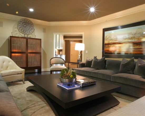 Gray Couch Design, Pictures, Remodel, Decor and Ideas - page 7 | livingroom  color schemes | Pinterest | Dark ceiling, Light walls and Ceilings