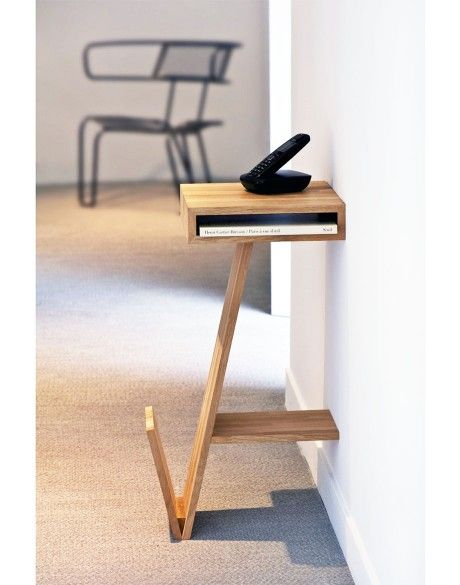 Mlle + Table de chevet
