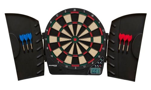Triumph Sports Vector Electronic Dart Board Complete Set - Your game room, den…