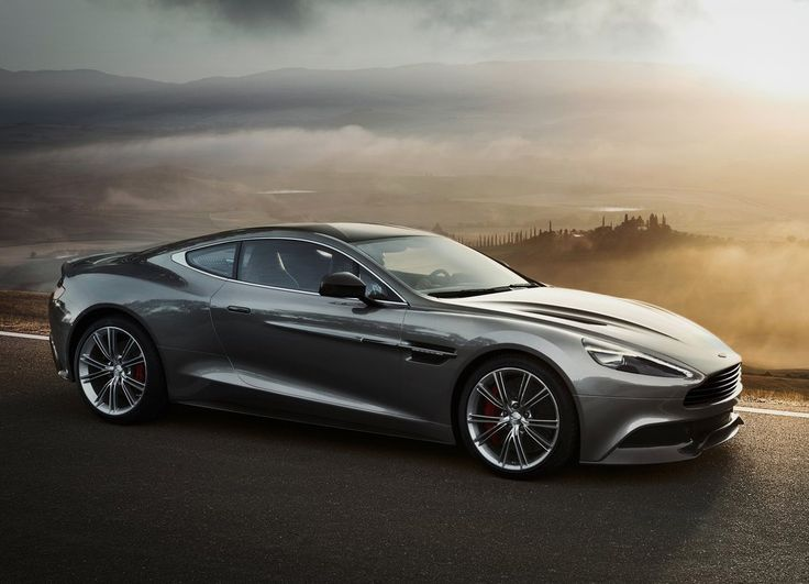Aston Martin Vanquish. What the gentleman of means might drive.