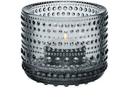 Iittala - Iittala Kastehelmi kynttilälyhty harmaa