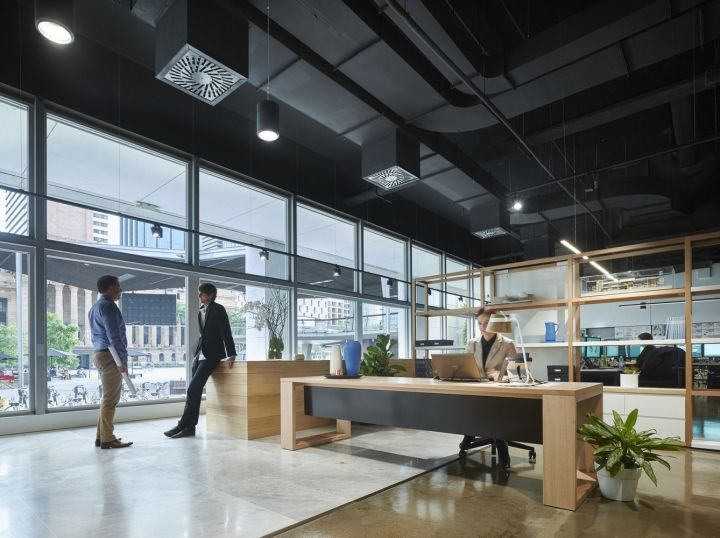 Woods Bagots Brisbane Studio Has Relocated Transforming The Old Reserve Bank Building On Adelaide Street Into A Collaborative And Sustainable Des
