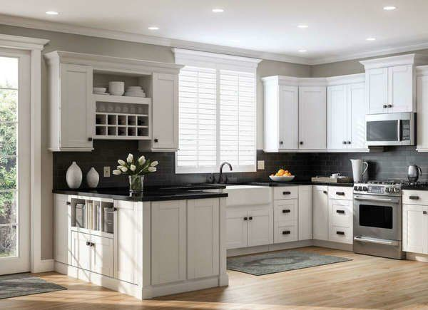 6 Types Of Cabinets To Consider In Your Kitchen Reno White Shaker Kitchen Online Kitchen Cabinets White Shaker Kitchen Cabinets