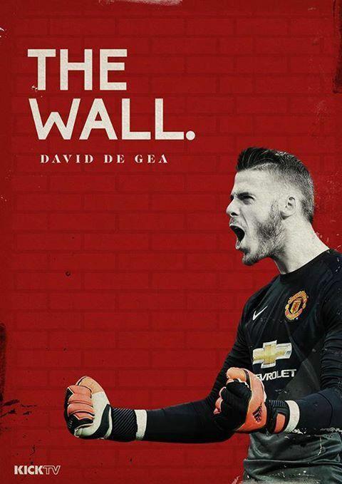David De Gea - Manchester United - ❶ - #TheWall