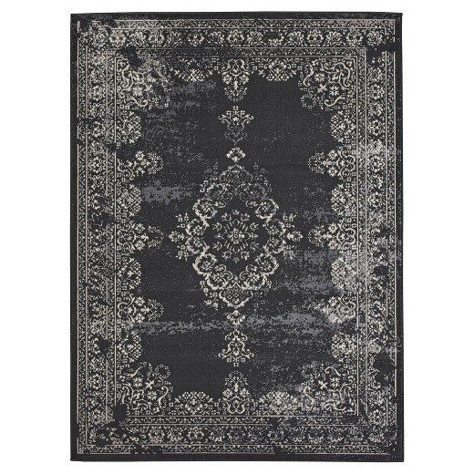 A plush carpet that makes a stately scene for your next soiree (you're fancy now, you don't just have parties). | 27 Cheap Rugs That Look Fancy AF
