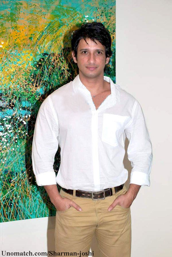 Sharman Joshi Hindi: शर्मन जोशी) (born 17 March 1979) is an Indian film and actor. He has worked on various stage productions in English, Hindi, Marathi and Gujarati languages. However, he is mostly known for his work in Hindi films. like : http://www.Unomatch.com/Sharman-joshi/