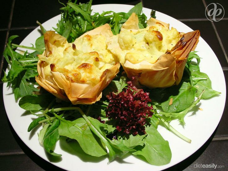 This Feta Cheese Souffles In Phyllo Cups recipe will be available for free on dieteasily.com when it launches
