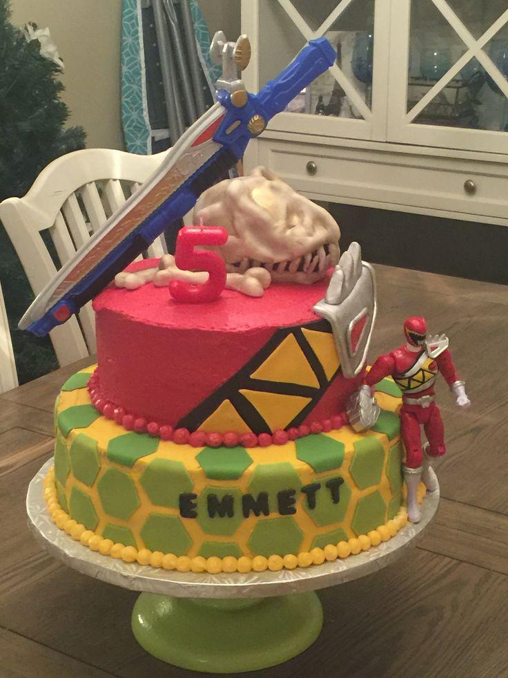 Power Rangers Dino Charge Birthday cake