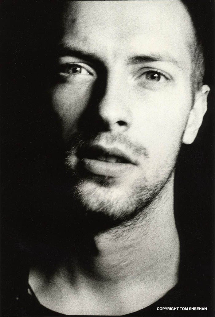 Chris Martin. I am seriously in love with him...if you are not a believer google his Howard Stern interview.