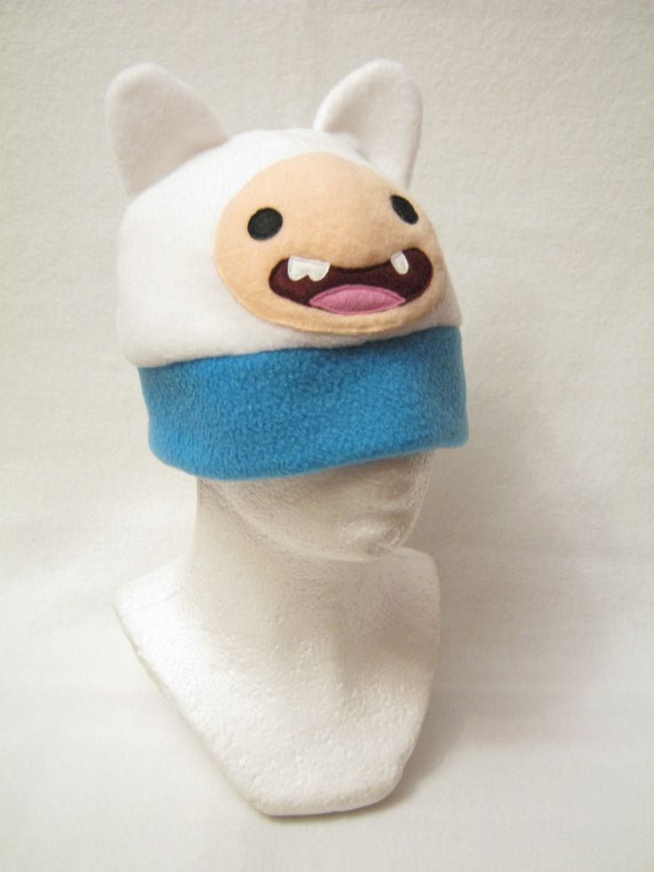 Finn Hat  Adventure Time  Made by Plush Workshop