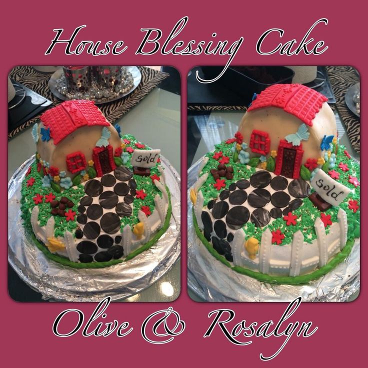 House Blessing/warming CAKES for my Friends