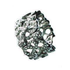 white gold + diamonds - design by silvanuno.com