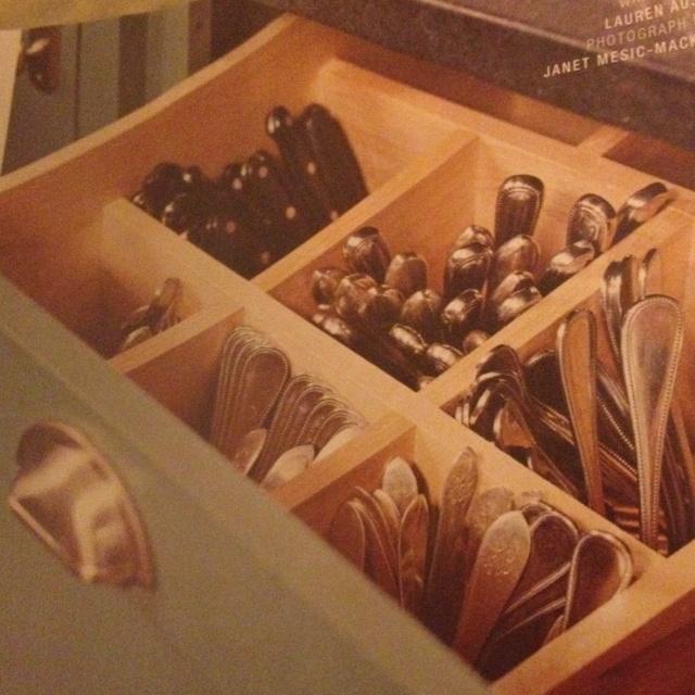 134 best images about kitchen ideas on pinterest for Creative silverware storage