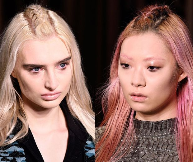 London Fashion Week kicks off with our new favourite hairstyle... The unicorn braid!