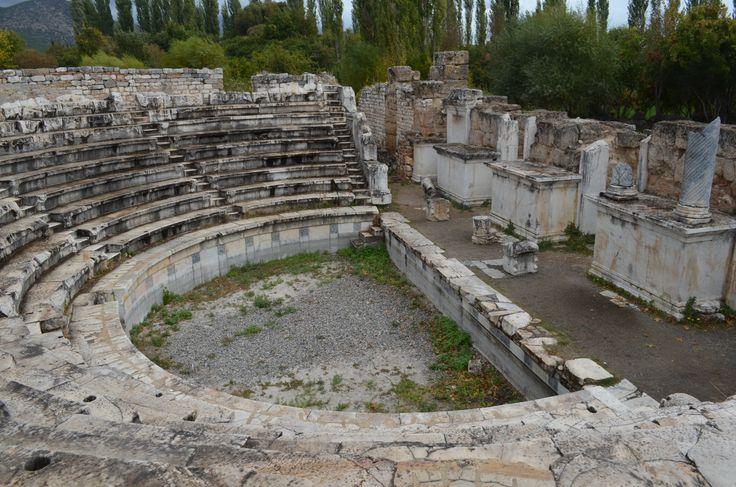 Aphrodisias the boulefterion