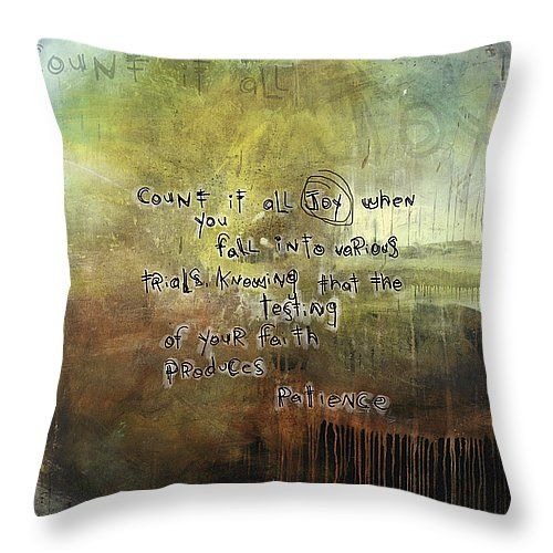 Throw Pillows With Scripture : 1000+ images about SCRIPTURE ART THROW PILLOWS on Pinterest Throw pillows, Scripture art and ...