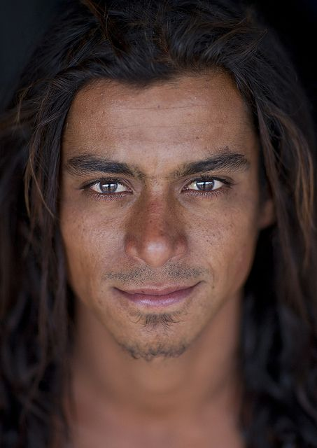 ♂ Man portrait face of a young man Loti Garcia, Easter Island, Chile