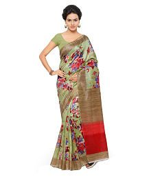 Raasrang Multicoloured Art Silk Saree Price in India - Buy Raasrang Multicoloured Art Silk Saree Online at Snapdeal