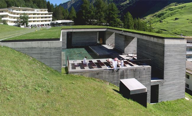 Thermal Baths by Peter Zumthor