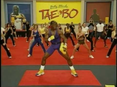 Billy Blanks Taebo Advance 1.mp4 I had forgotten how good Tae bo was.  You do cardio while toning.