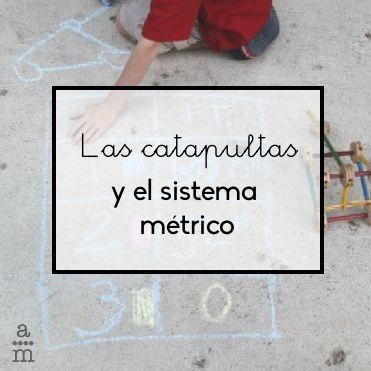 ¿Habéis hecho nunca una catapulta? Es una idea muy divertida para aprender el sistema métrico. ¿Te animas? http://blgs.co/rI1c7_