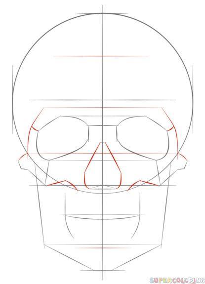 Easy Beginner Skull: 27 Best Easy Tattoo Outlines For Beginners Images On