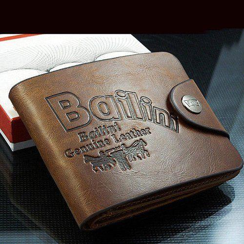 Vintage short style brown men leather wallet,man hasp wallet,notecase,burse,moneybag,ID credit card wallet @ £6.59