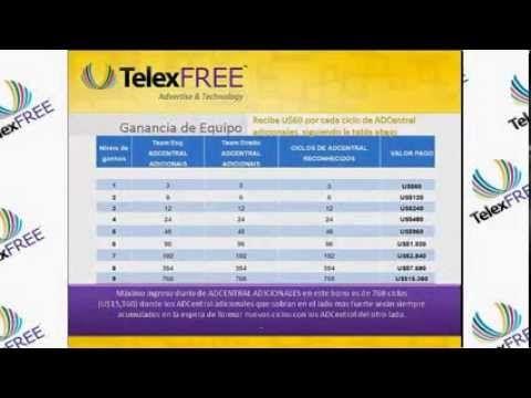 TelexFREE, olvídate de la crisis o el desempleo!