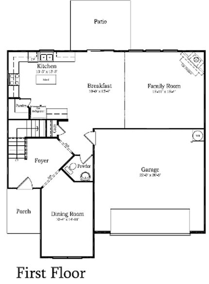 Camden New Home Plan in Kinmere Farms   Enclave. 17 Best images about gc house on Pinterest   2nd floor  House