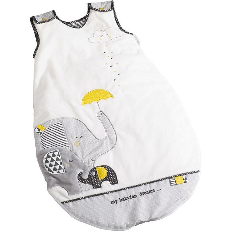La gigoteuse chaude Babyfan de la marque Sauthon Baby Déco sera parfaite pour protéger bébé durant la nuit et la sieste.