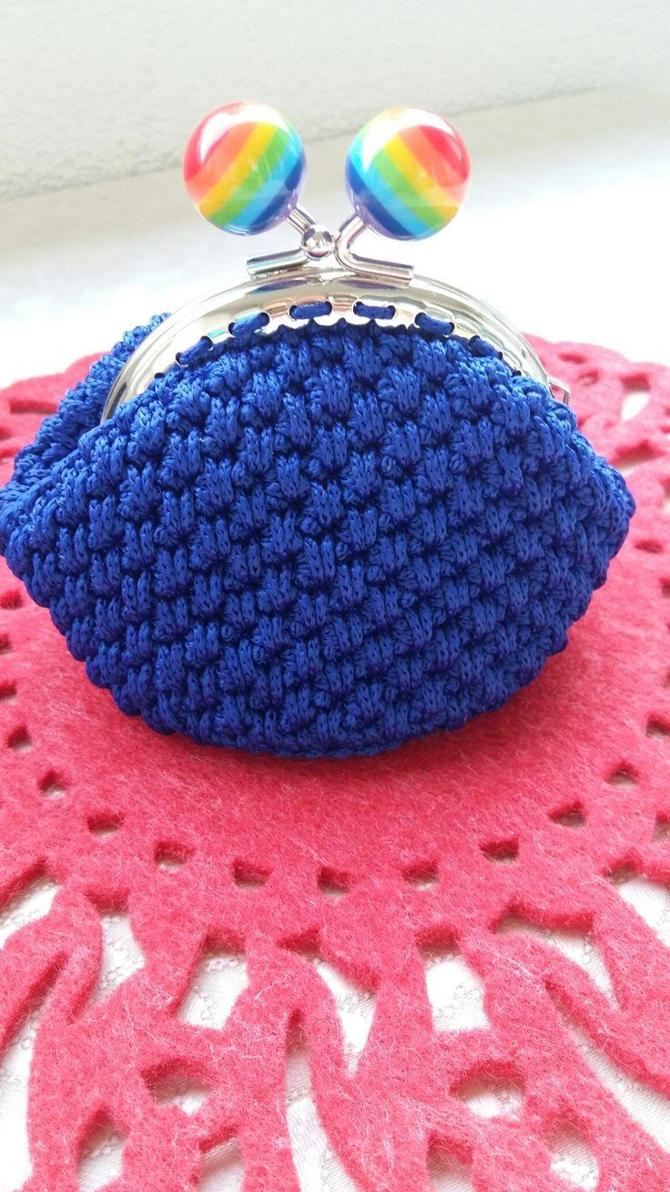 Handmade crochet wallet